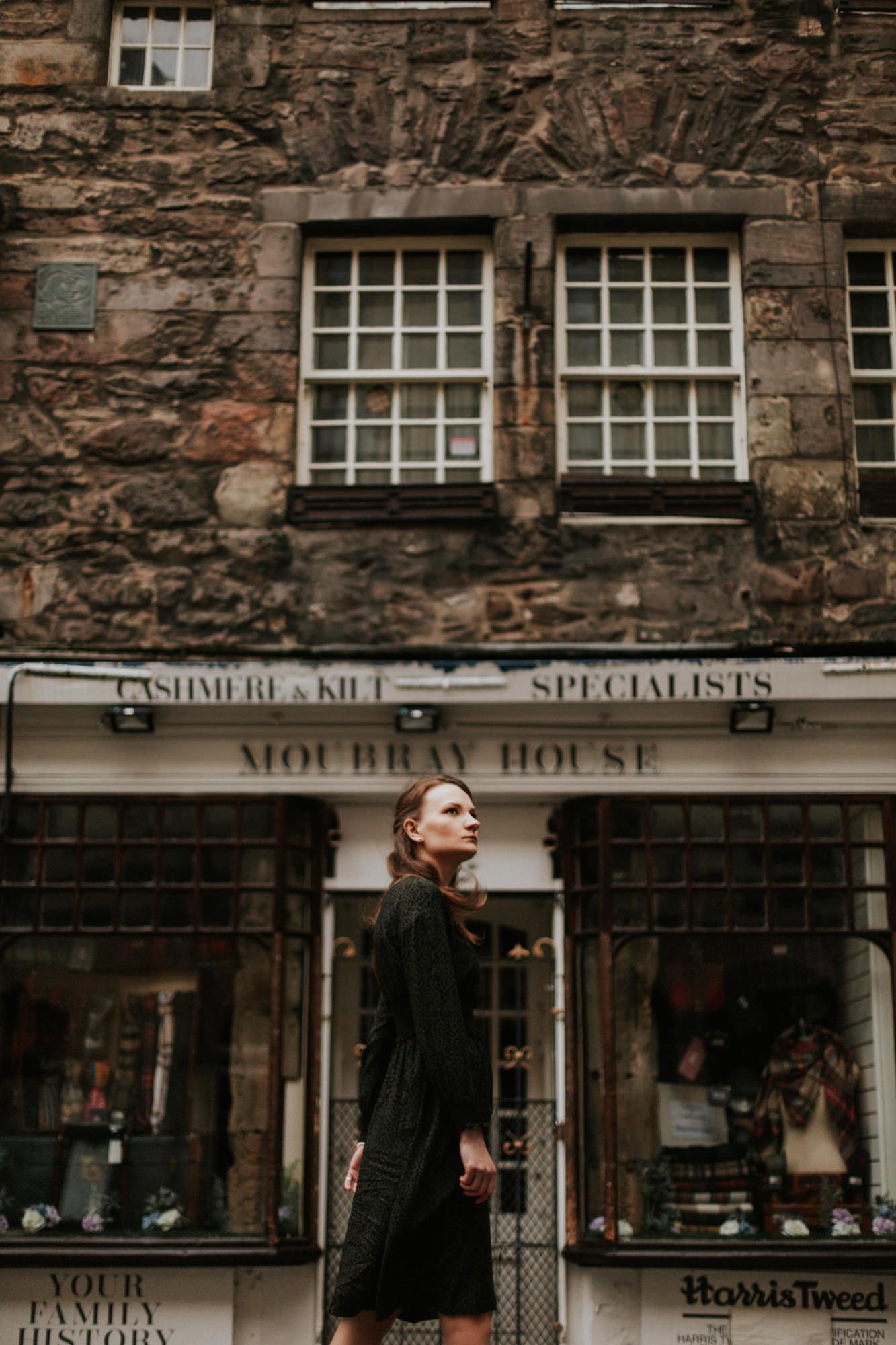Photographer Edinburgh Scotland - Justyna, The Writer's Museum