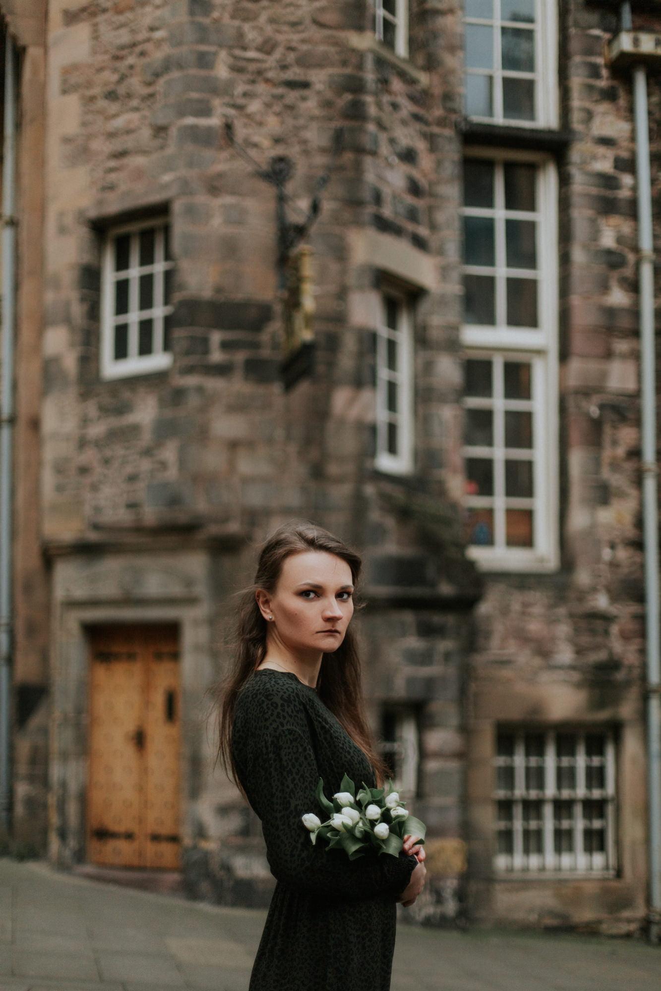 Edinburgh Photographer, Edinburgh Portrait Photoshoot in Old Town