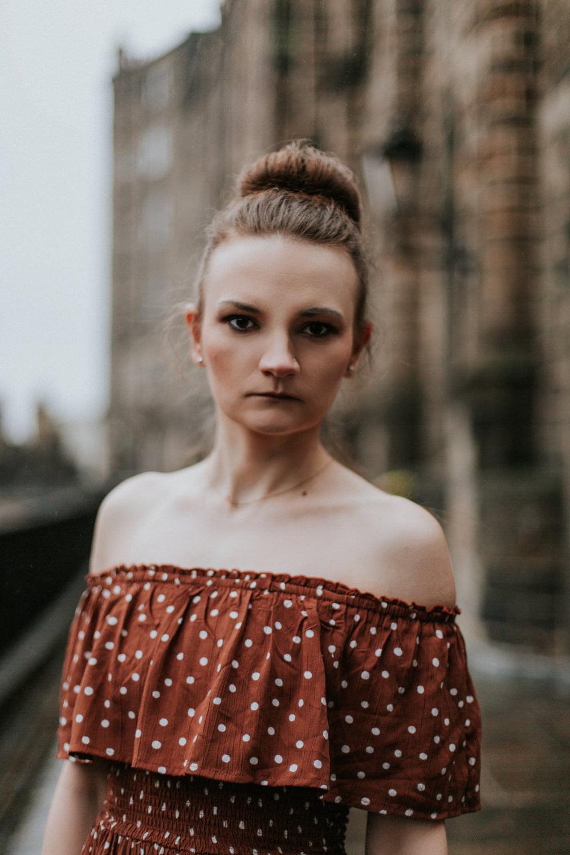 Edinburgh Portrait Photographer, Victoria Terrace Edinburgh Portrait Photoshoot