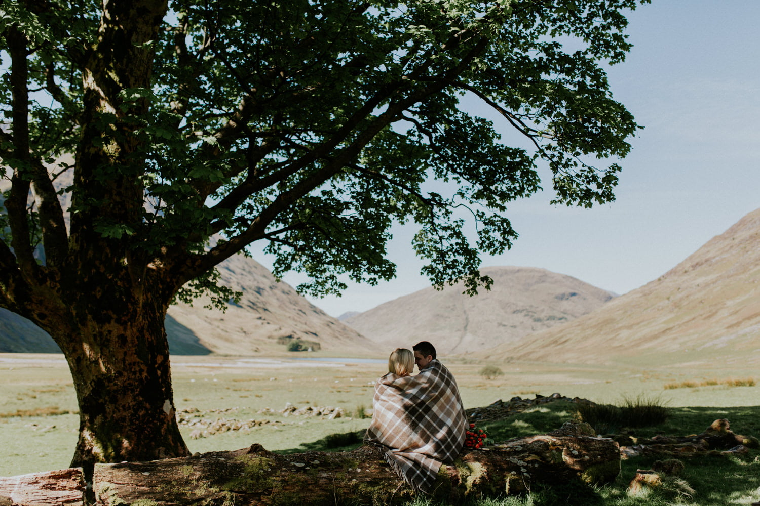 Couples Photo Session in Glencoe - Karolina & Przemek 1