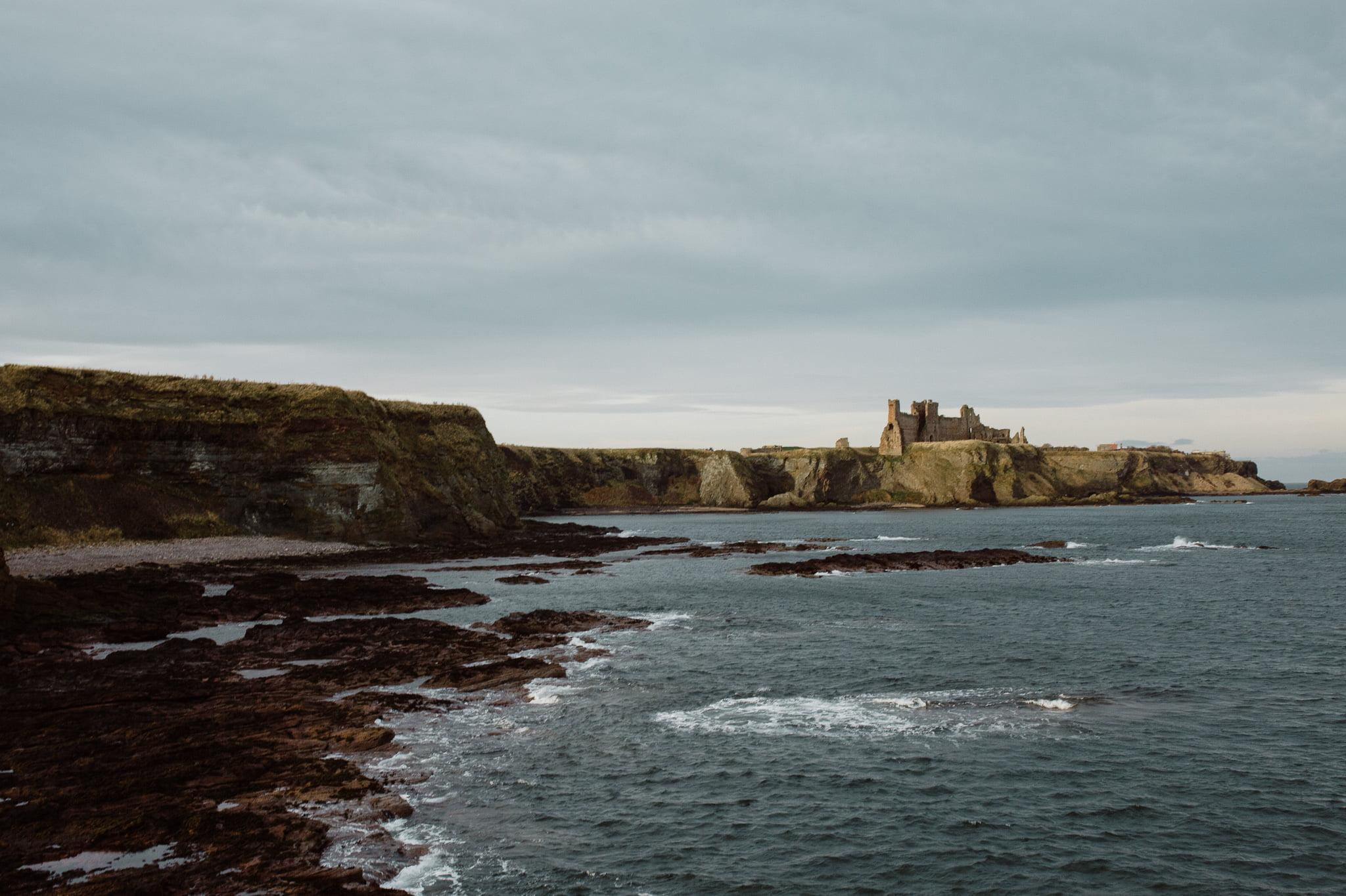 Scotland Wedding Photographer - Tantallon Castle, Bamburgh Castle, Holy Island 1