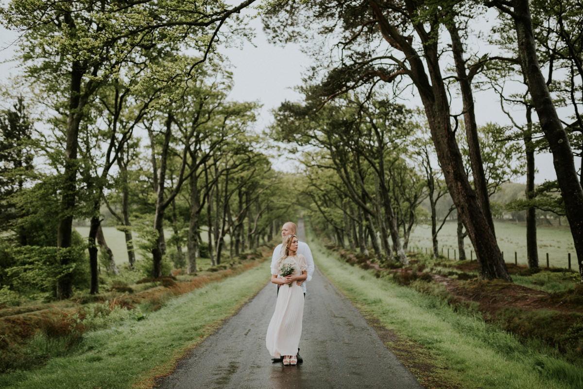 Edinburgh, Pentland Hills Elopement Photographer - Emili & Frederic