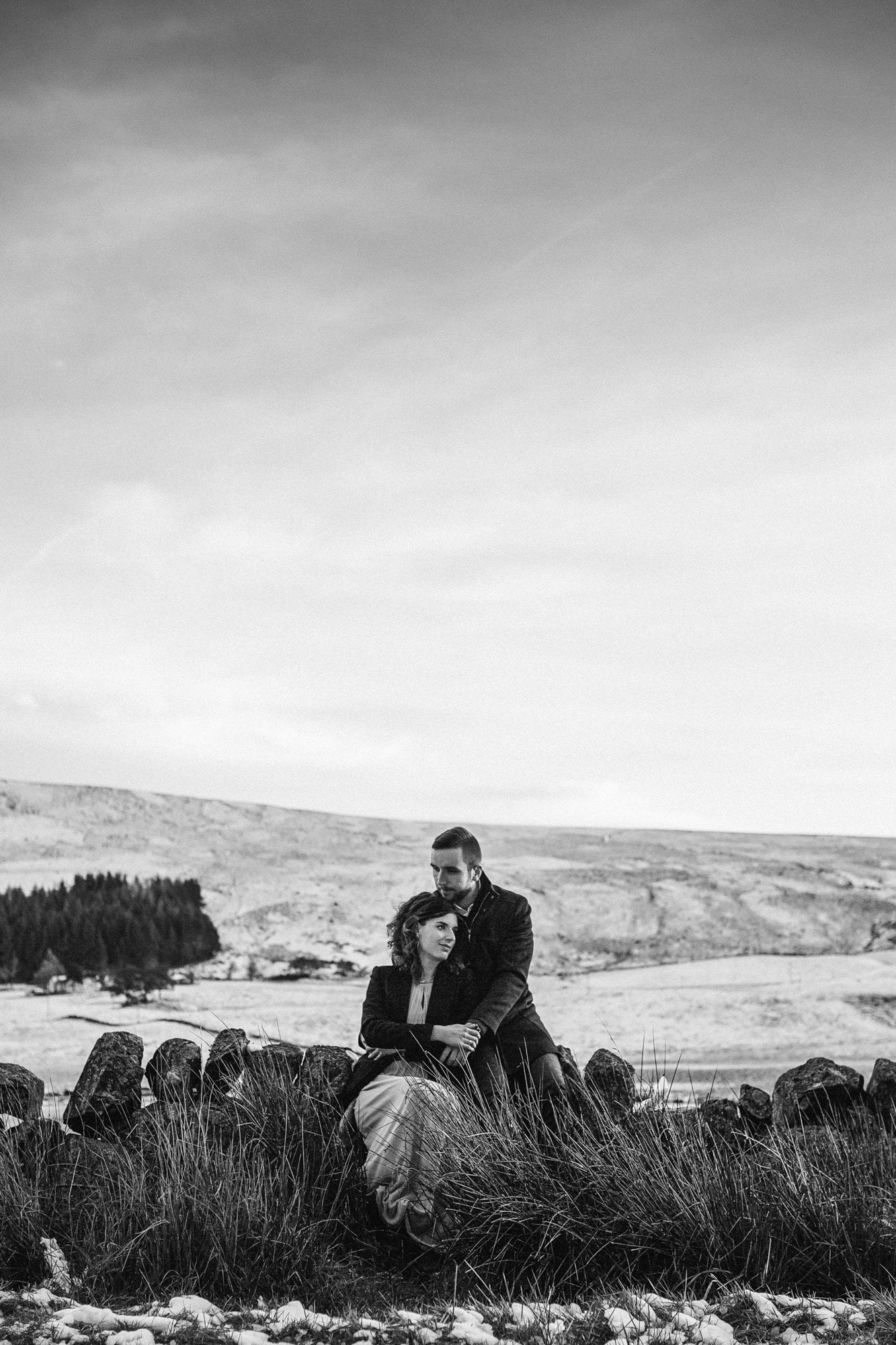 Glen Clova Winter Couples Photoshoot - Kaja & Mateusz