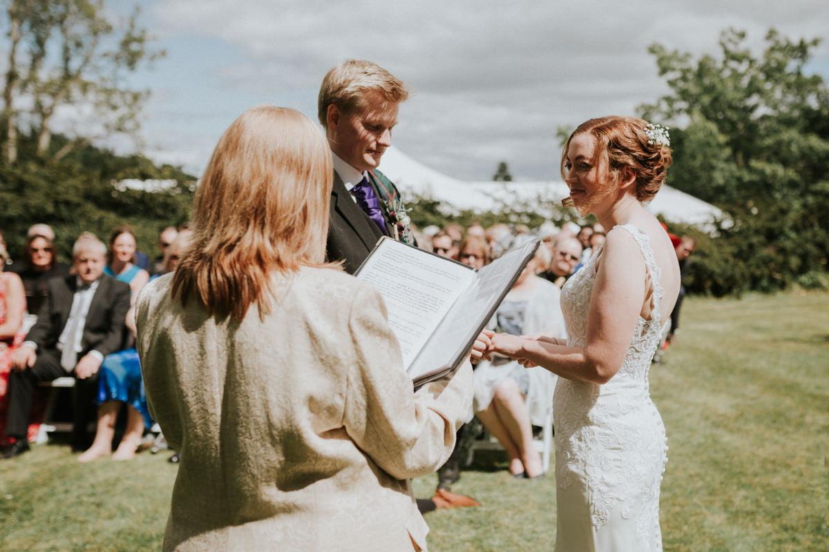 Perthshire Wedding Photographer - Emma & John, Fingask Castle 33