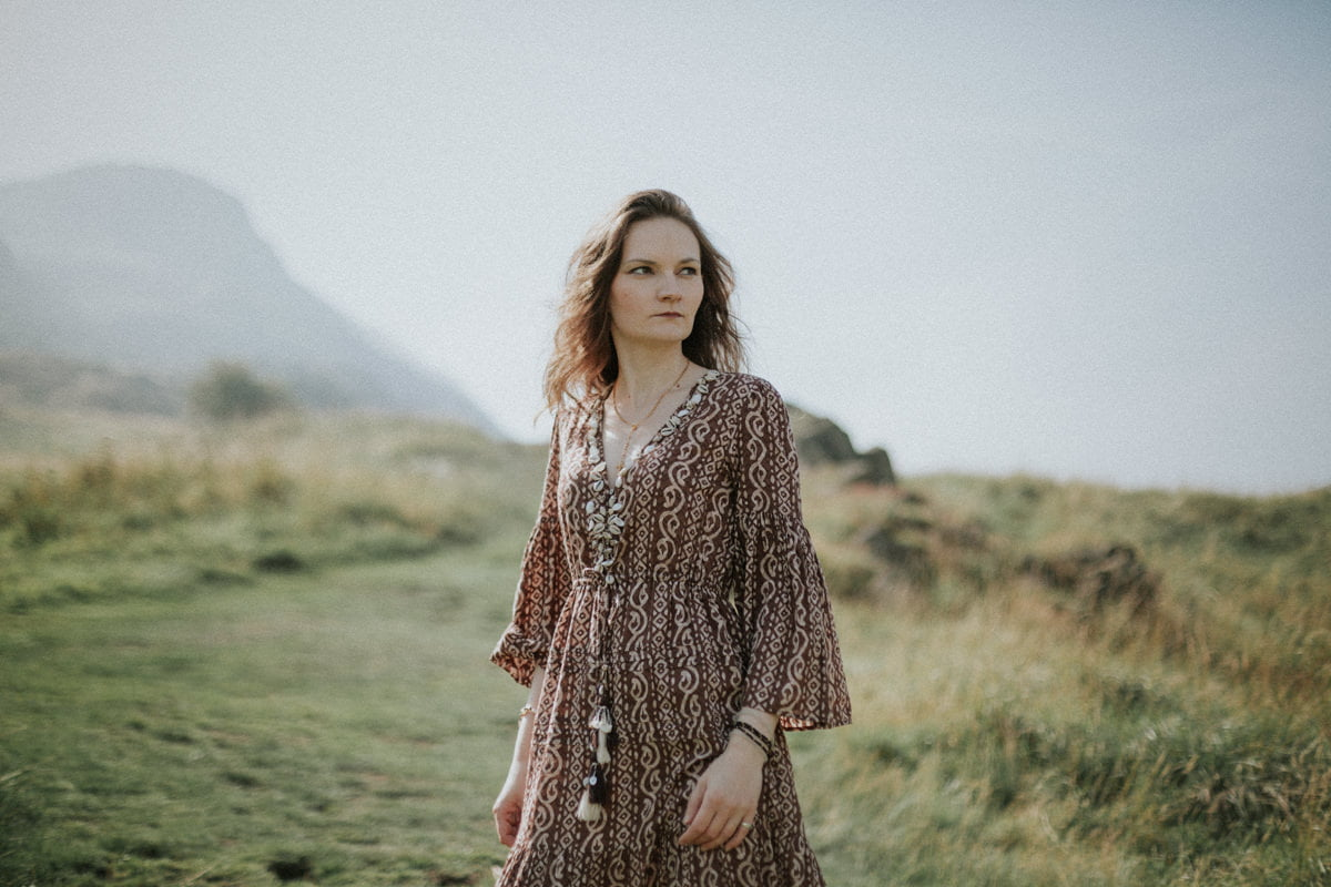 Edinburgh Portrait Photographer - Justyna, Arthur's Seat, Edinburgh 2