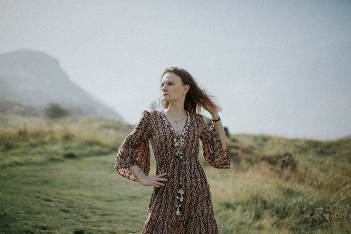 Edinburgh Portrait Photographer - Justyna, Arthur's Seat, Edinburgh 3