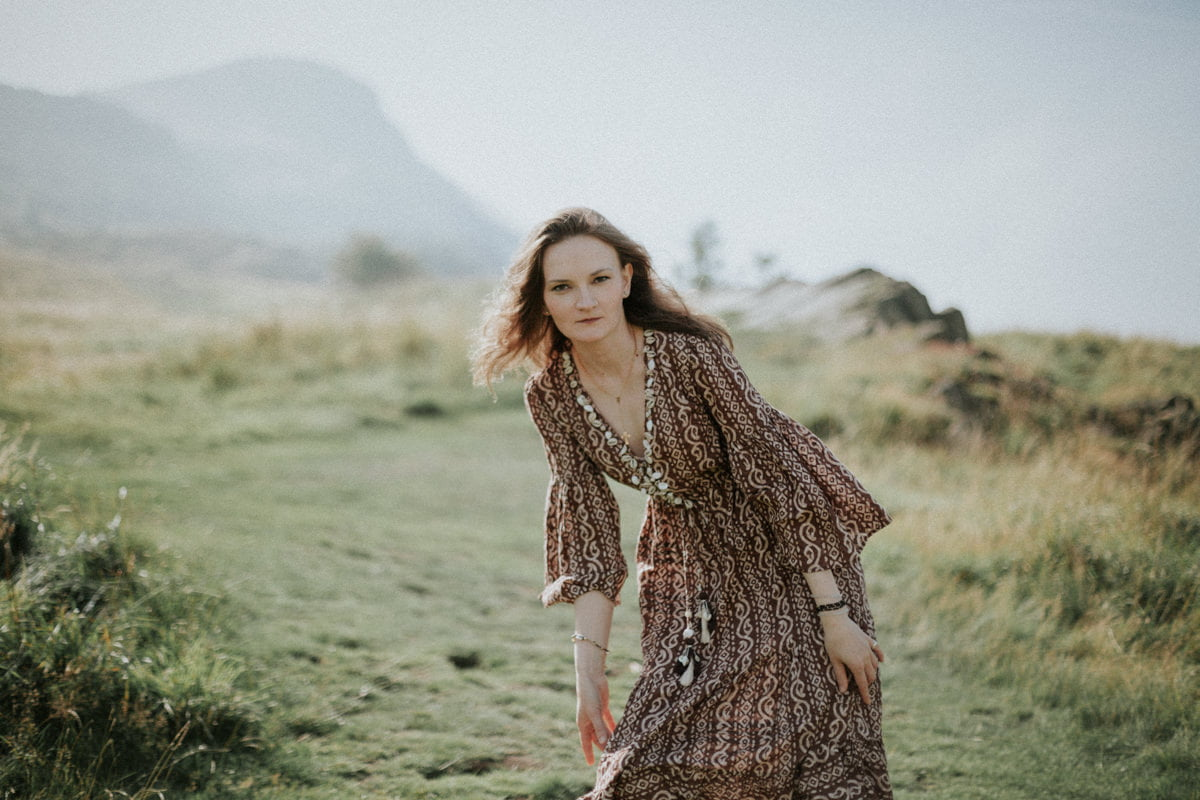 Edinburgh Portrait Photographer - Justyna, Arthur's Seat, Edinburgh 4
