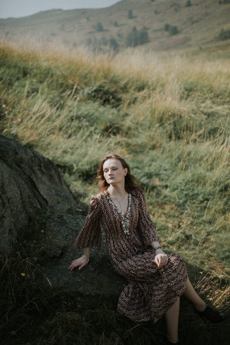 Edinburgh Portrait Photographer - Justyna, Arthur's Seat, Edinburgh 7