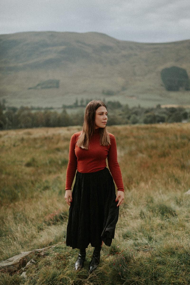 Clova couple session, autumn in Scotland, autumn in Cairngorms National Park, autumn in Glen Clova