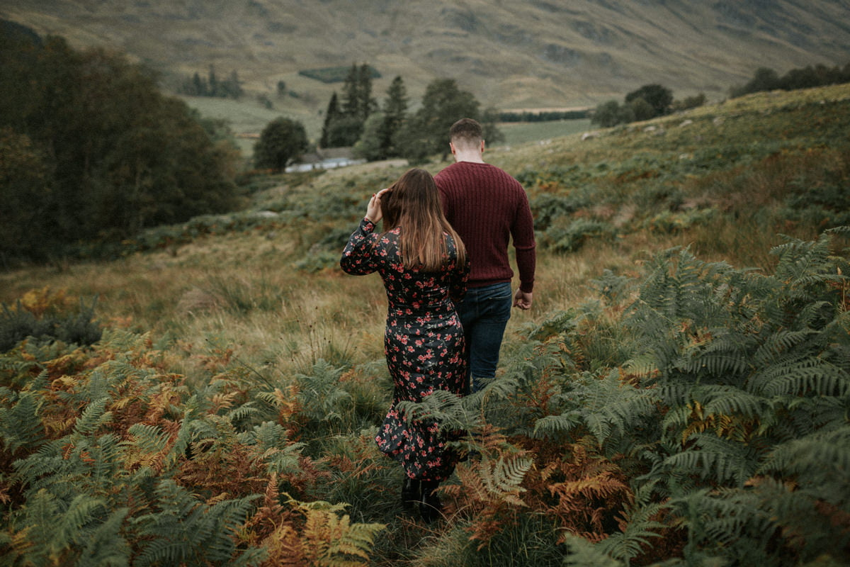Scotland Adventurous Couples Photographer - Paulina & Finlay, Glen Clova
