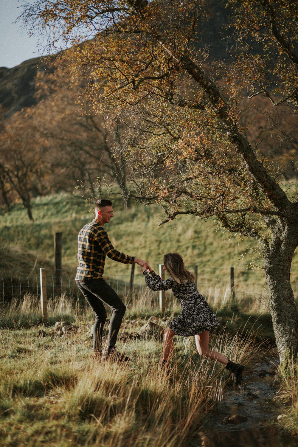 Adventurous session Scotland, Clova, Glen Clova, Wedding Photographer St Andrews