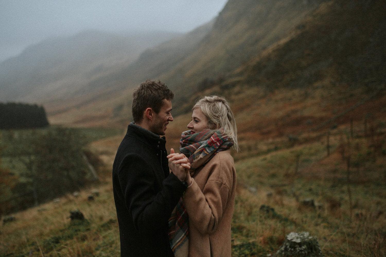 Glen Doll Adventurous Couples Photoshoot - Kinga & Adam