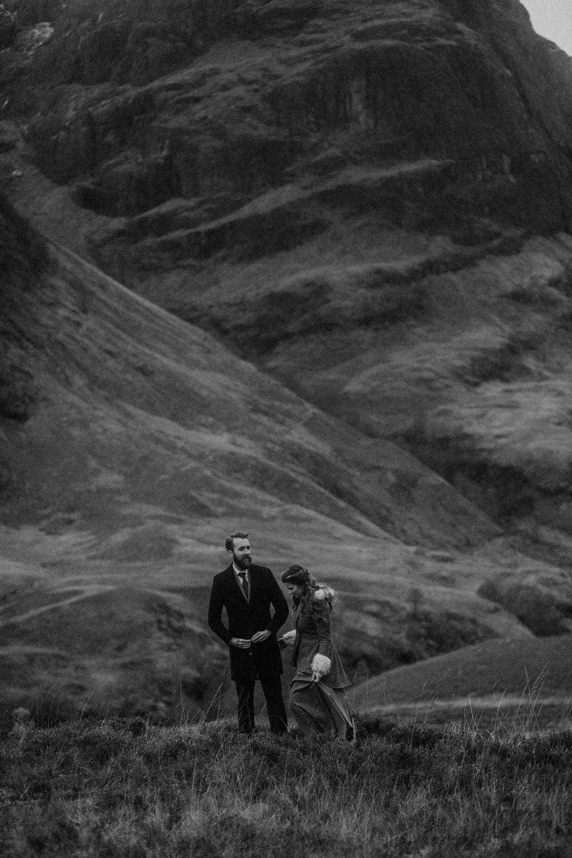 Glencoe, Three Sisters, Glecoe elopement, Scottish Highlands elopement, Scottish Highlands, Glencoe photography, Glencoe wedding, Glencoe wedding photographer, Glencoe wedding photos, Glencoe elopement, Bernadeta Kupiec