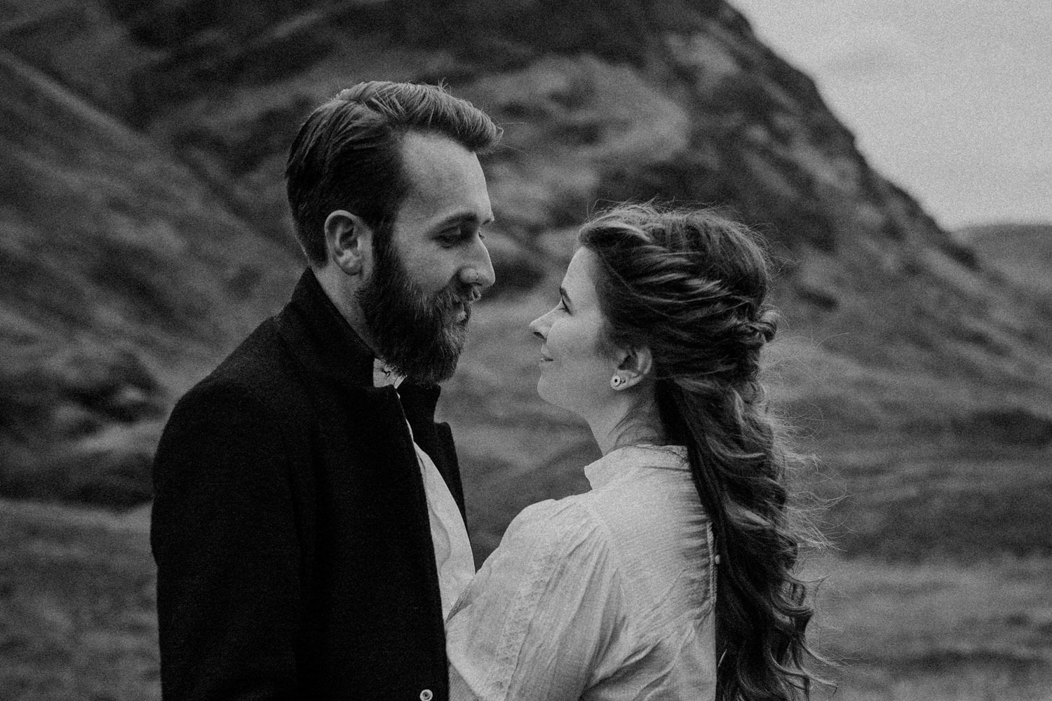 Scotland Adventurous Couples Photographer - Tally & Jack, Three Sisters
