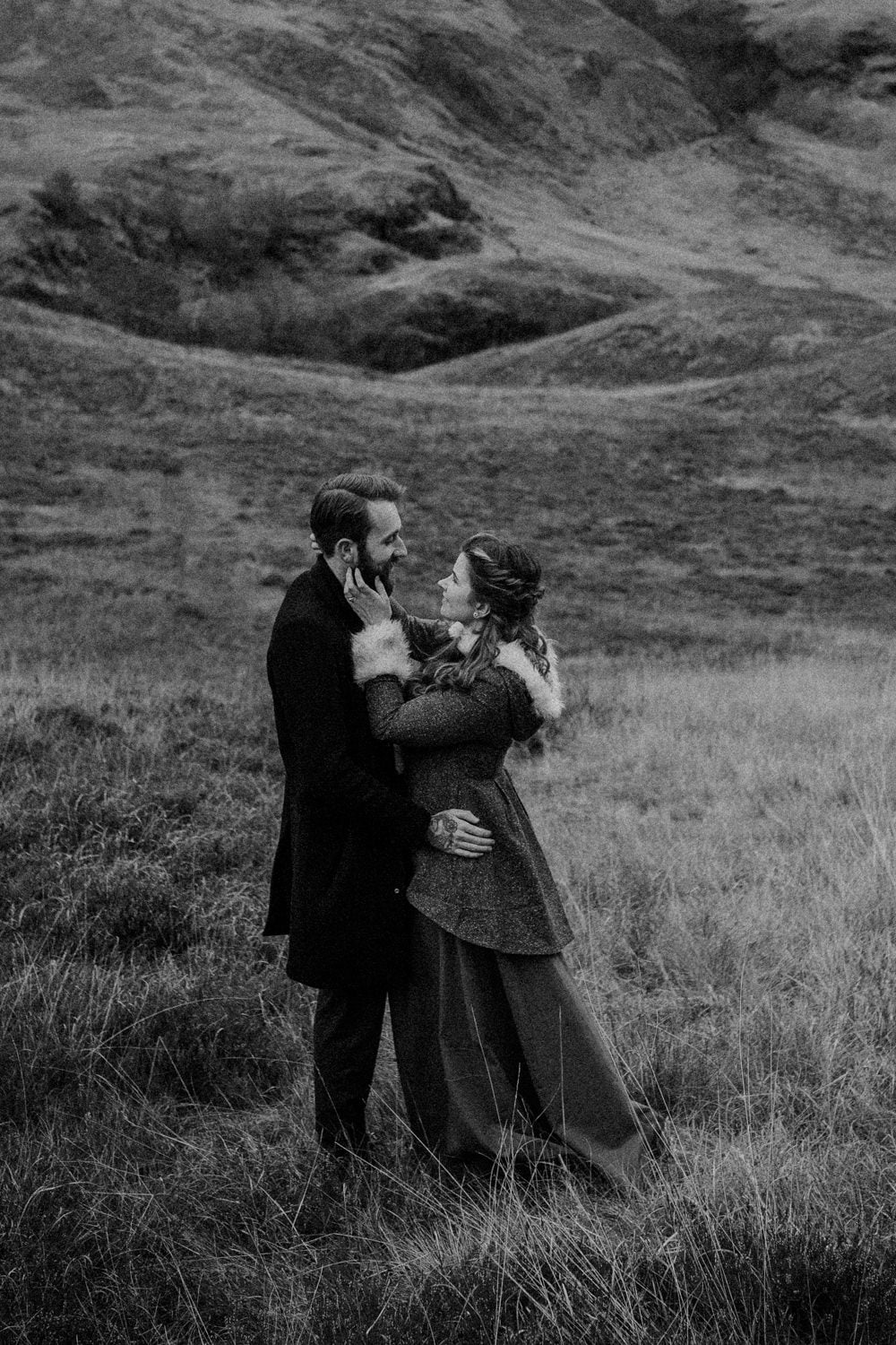 Glencoe Adventurous Couples Photo Session - Tally & Jack, Three Sisters