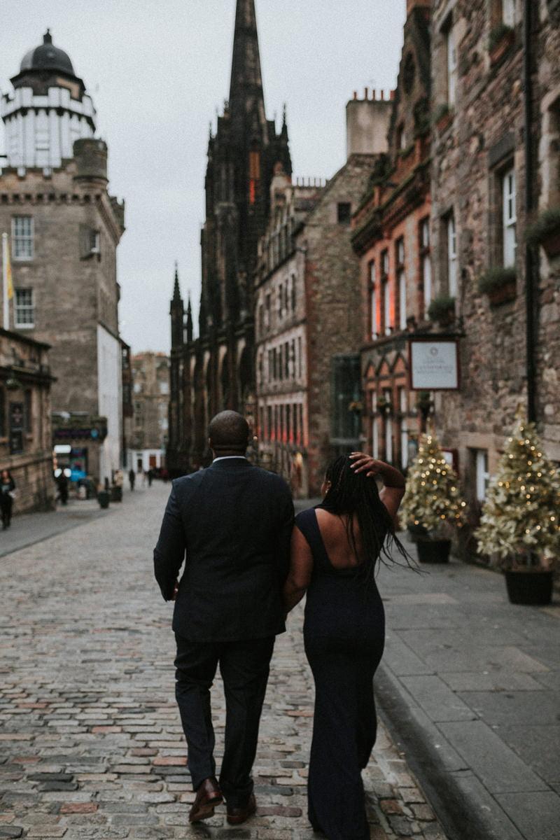 Edinburgh Engagement Photoshoot, Edinburgh Engagement Photographer - Chanae & Kenneth