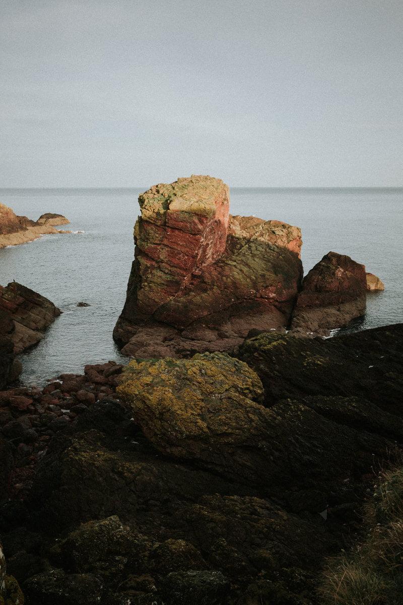 Scotland Wedding Photographer St Abbs Scottish Borders