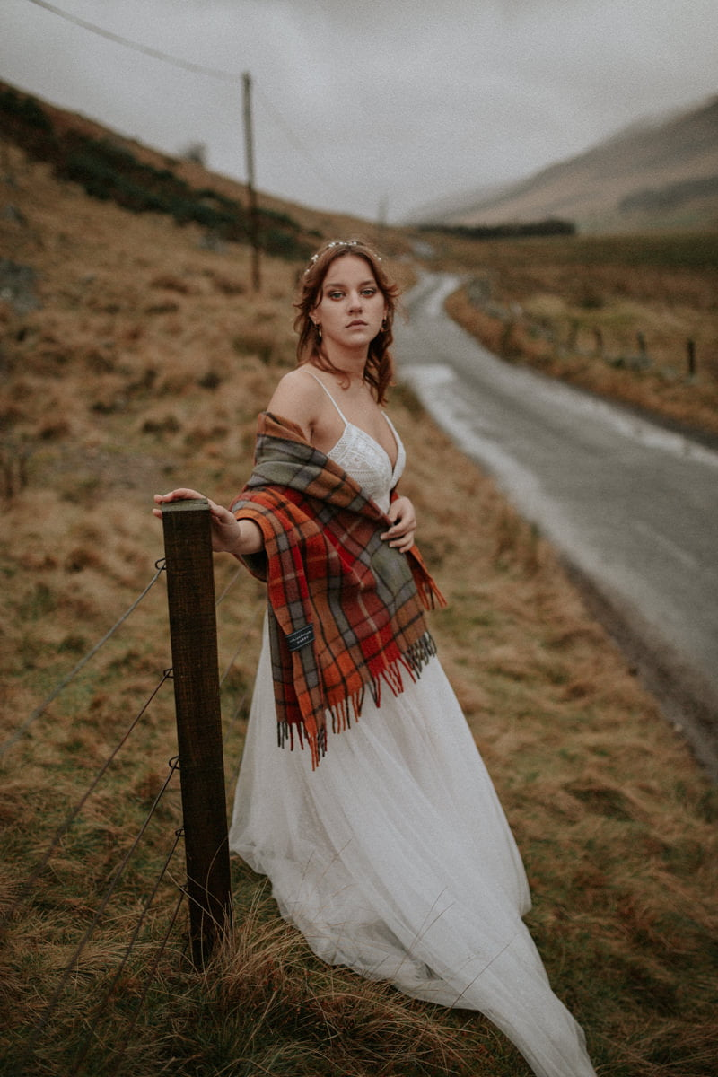 Intimate Scotland Wedding Photographer - Boho Wedding, Scottish Highlands Elopement