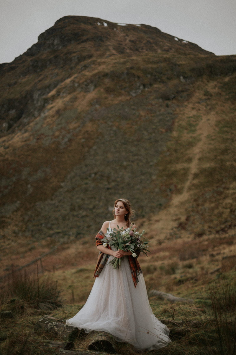 Clova wedding, Clova elopement, Intimate Scotland Wedding Photographer - Boho Wedding, Scottish Highlands Elopement