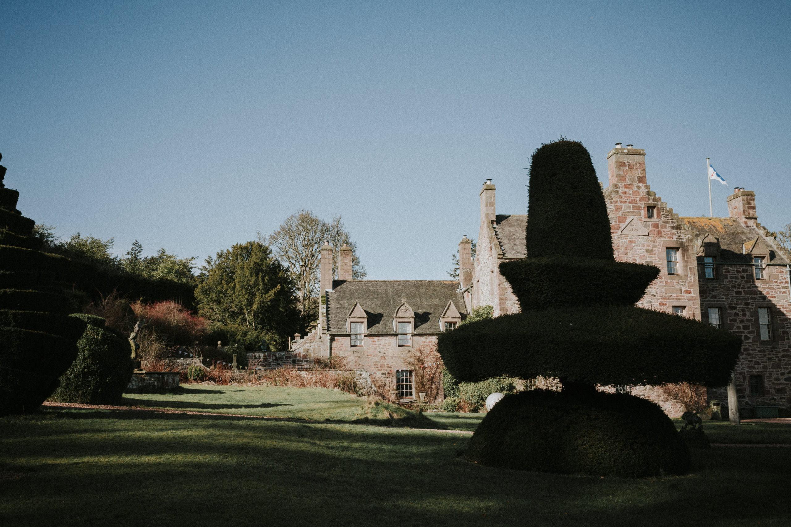 Wedding in Fingask Castle - Perthshire Castle Wedding Venues 1