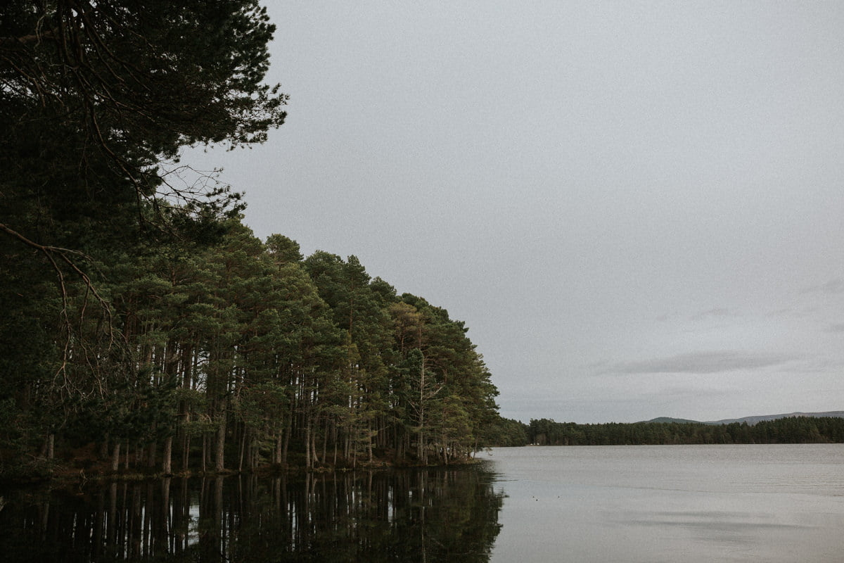 Scotland Elopement Photographer - Loch Garten