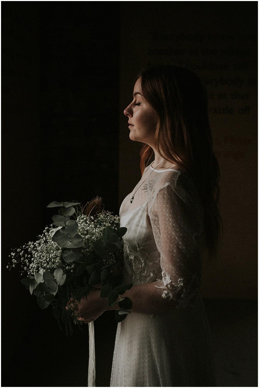 Wedding in National Mining Museum Scotland - Corinne & Gary