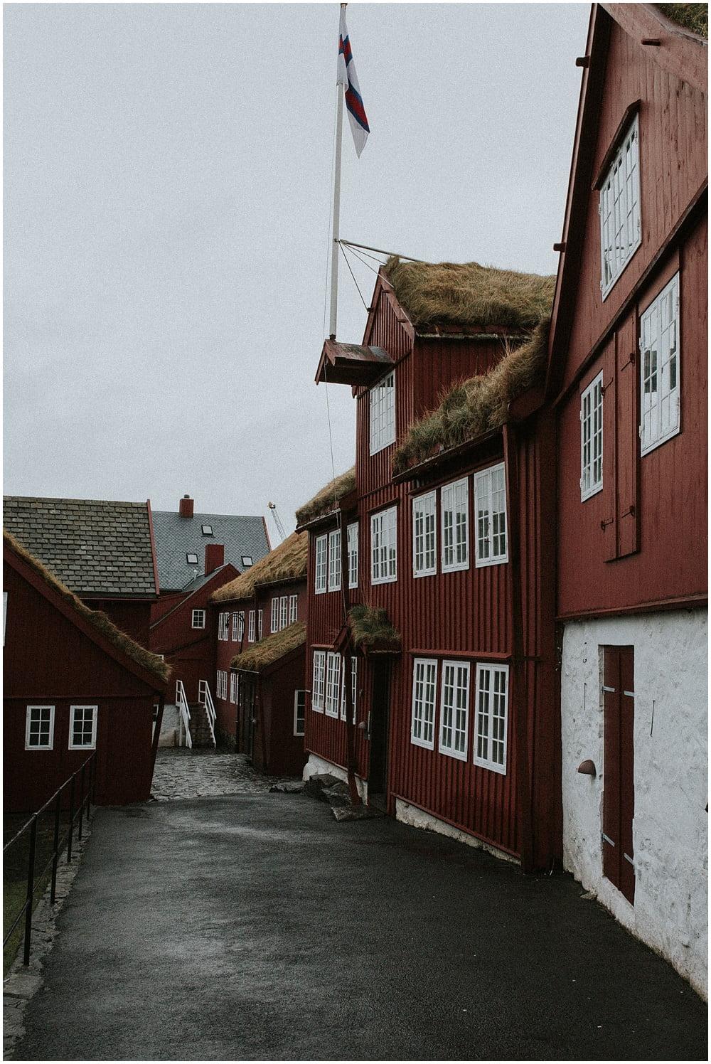 Faroe Islands portrait photographer, Emilia in Tórshavn