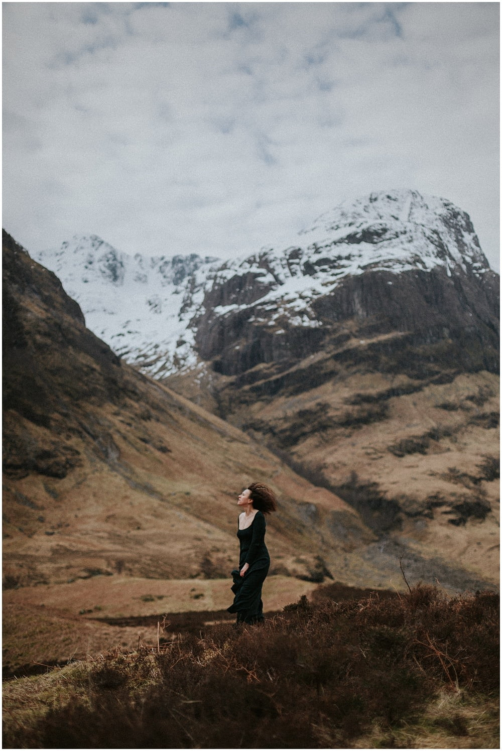 Glencoe adventurous photo session, Three Sisters Glencoe, The unconventional guide to happiness