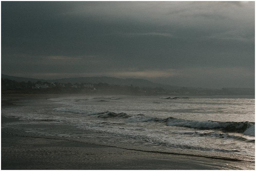 Leven, Fife by Bernadeta Kupiec, Scotland Wedding Photographer based in Fife Scotland, Scotland Elopement Photographer, Scotland Landscape Photographer, Fife Coastal Path, sunrise on the beach