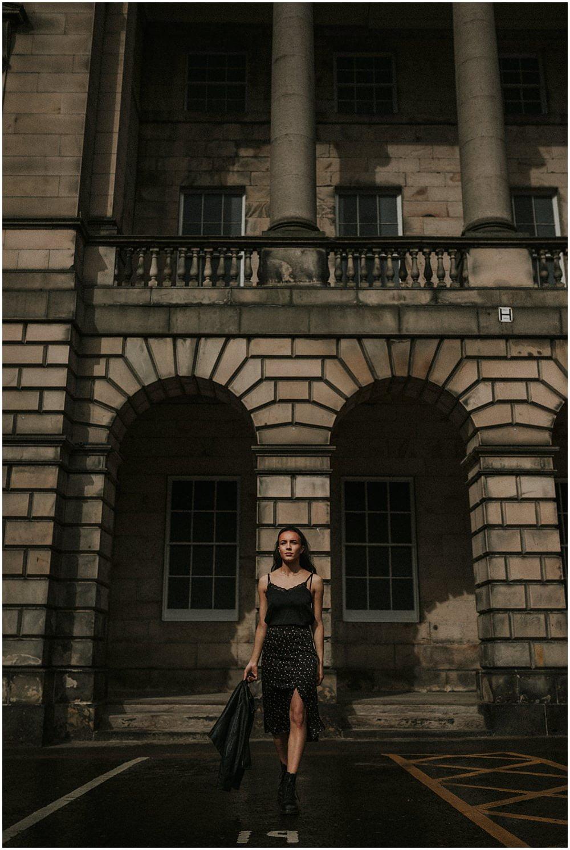 Becca Watson, test shoot for Tartan Models, Edinburgh Commercial Photographer