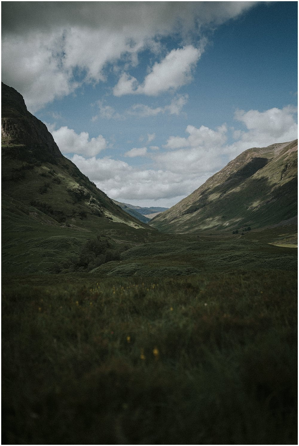 Adventurous Couples Photo Session in Glencoe, Three Sisters, JKL Duo, musicians photo shoot in Glencoe Valley