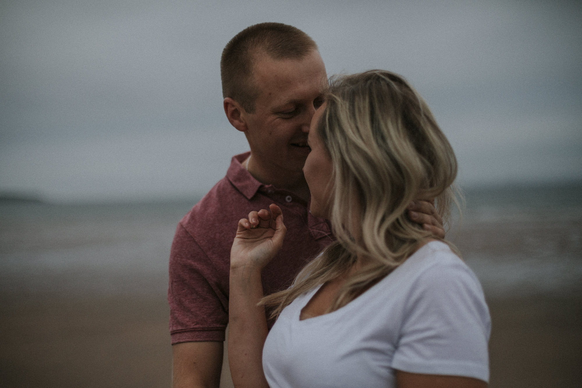 Beach Leven Fife, Adventurous Couples Session