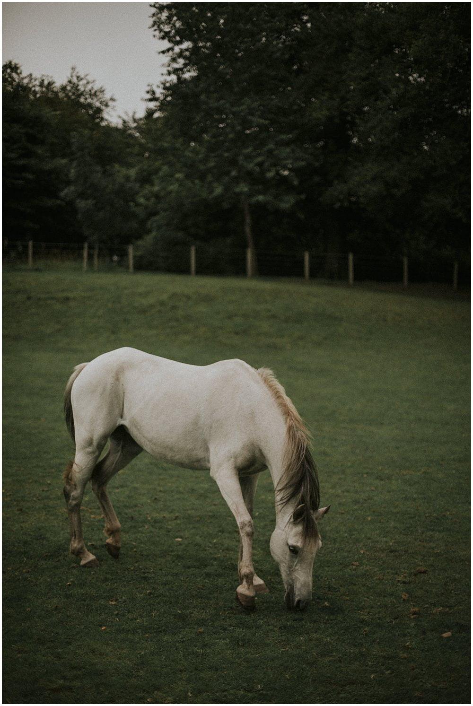 Thirlestane Castle Wedding, Scottish Borders Wedding Photographer, Tatiana Kaplun Bride Collection, bride with the horse Scotland