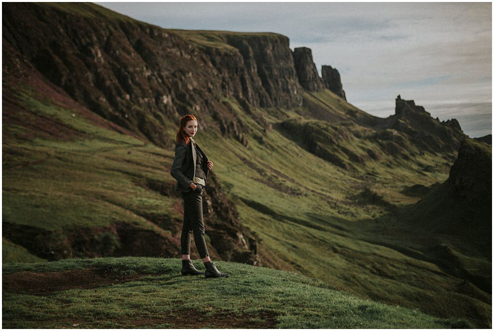Isle of Skye Photographer – Emma, The Quiraing
