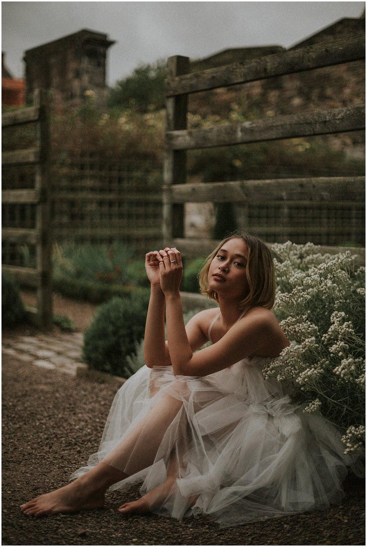 Edinburgh Fashion Photographer, Edinburgh Wedding Photographer, Hanis Firuz, Edinburgh Model