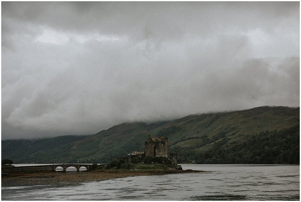 Isle of Skye elopement photographer, Isle of Skye places to elope, elope to Scotland, Eilean Donan Castle wedding