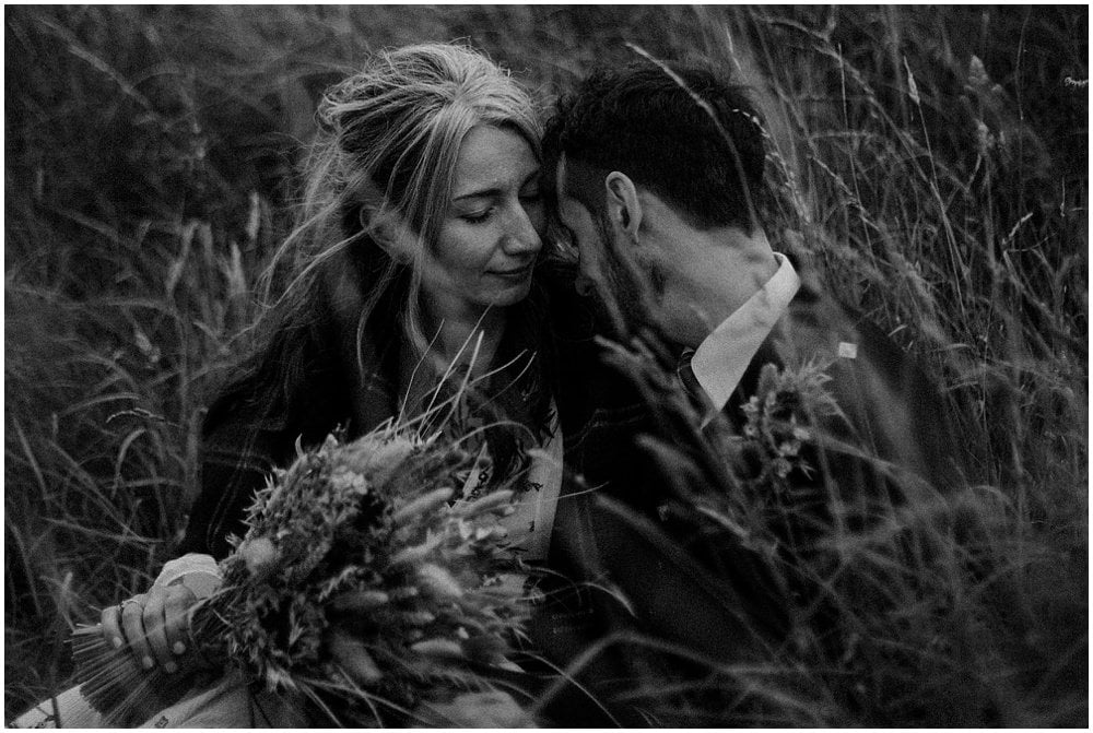 Arthur's Seat Edinburgh Elopement Photographer