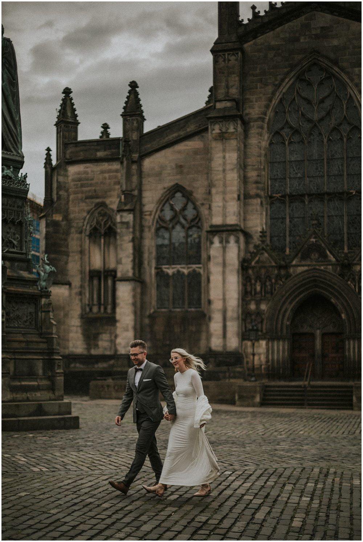 Edinburgh Wedding Photographer - Patrycja & Artur