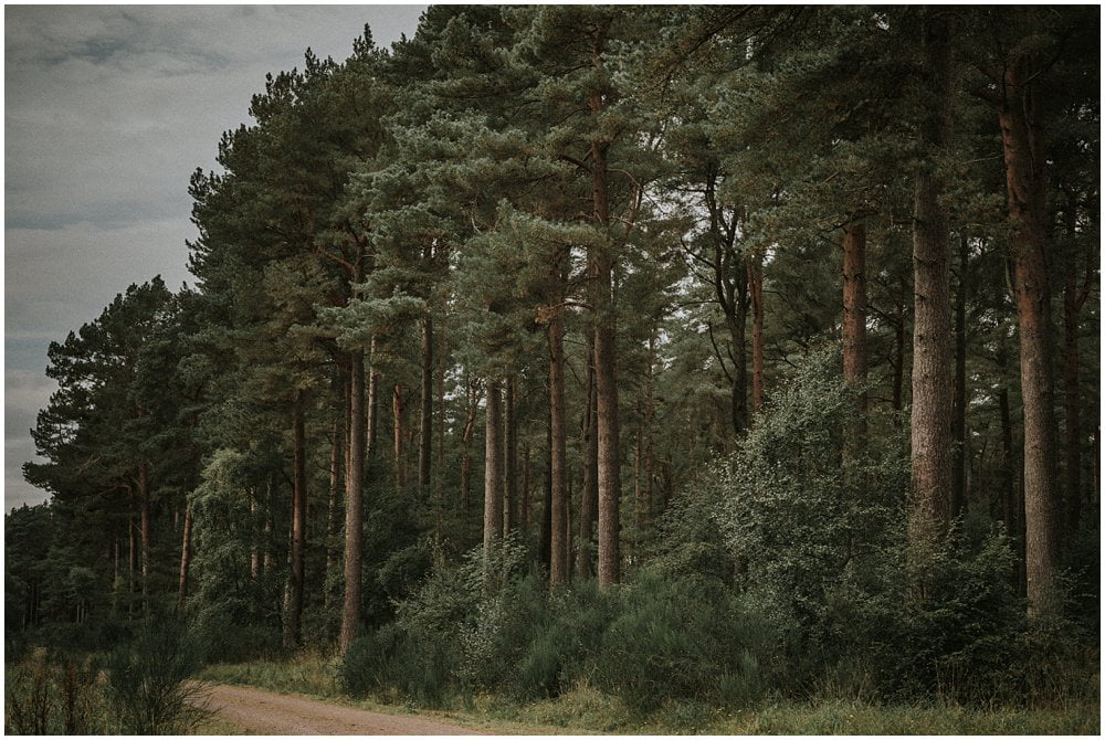 Forest Wedding Scotland – Tentsmuir Forest
