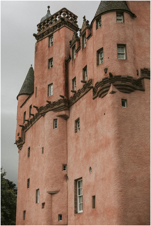 Craigievar Castle wedding Scotland, Aberdeenshire wedding photographer