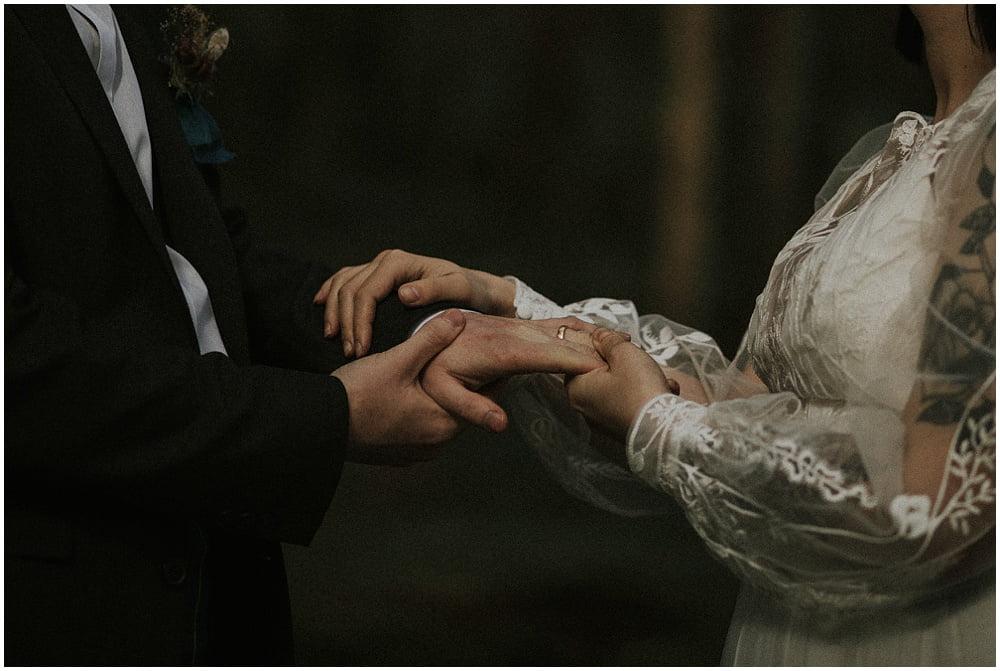 Glen Etive elopement, Scottish Highlands elopement, Forest elopement Scotland