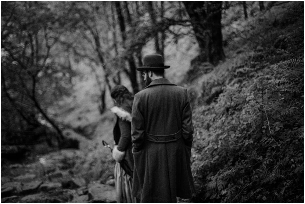 Staell Falls, Fort William rainy engagament, Tally & Jack