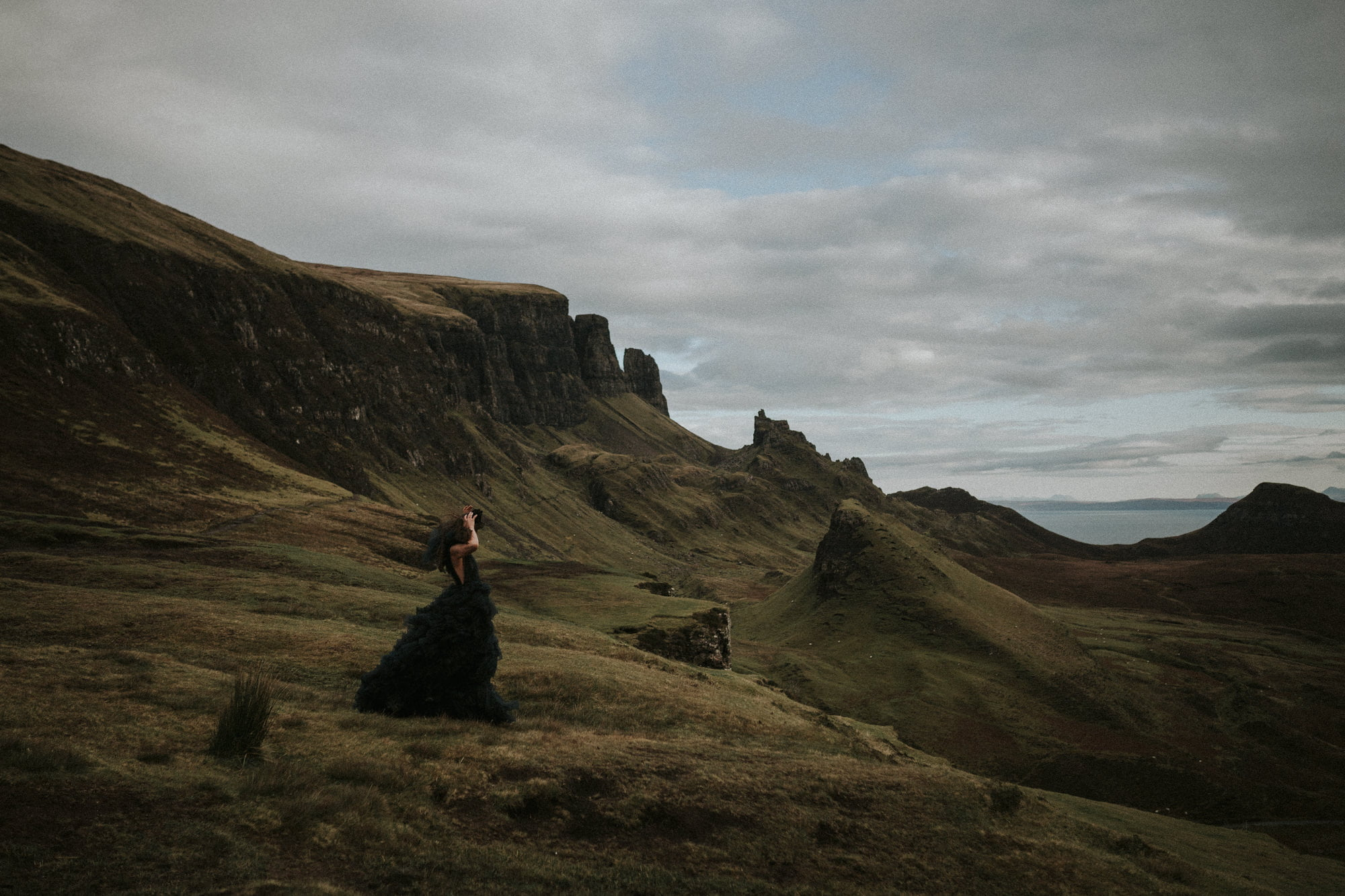 Isle of Skye Photographer, Isle of Skye The Quiraing Elopement Photographer