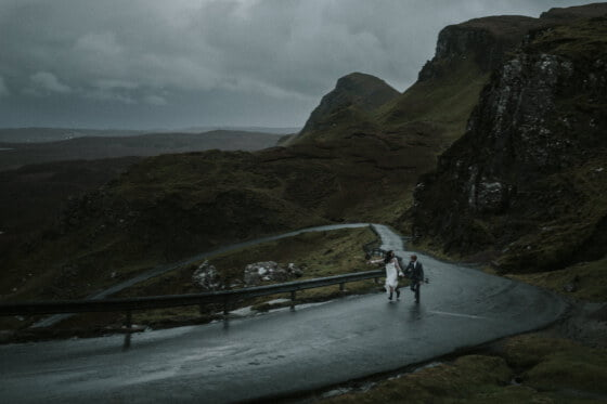 Wedding Photographer in Fife Scotland, Isle of Skye Elopement Photographer, Sligachan Isle of Skye Elopement, The Quiraing Isle of Skye Elopement, the best locations to elope Isle of Skye,