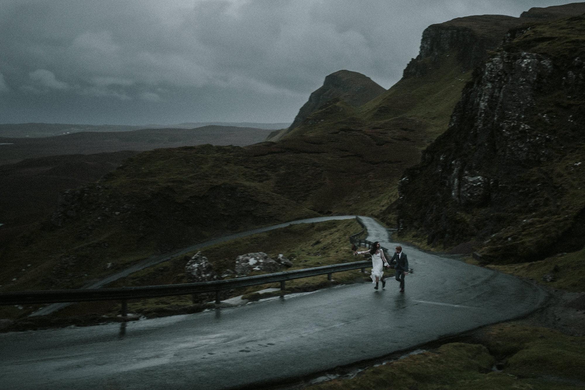 Wedding Photographer in Fife Scotland, Isle of Skye Elopement Photographer, Sligachan Isle of Skye Elopement, The Quiraing Isle of Skye Elopement, the best locations to elope Isle of Skye,
