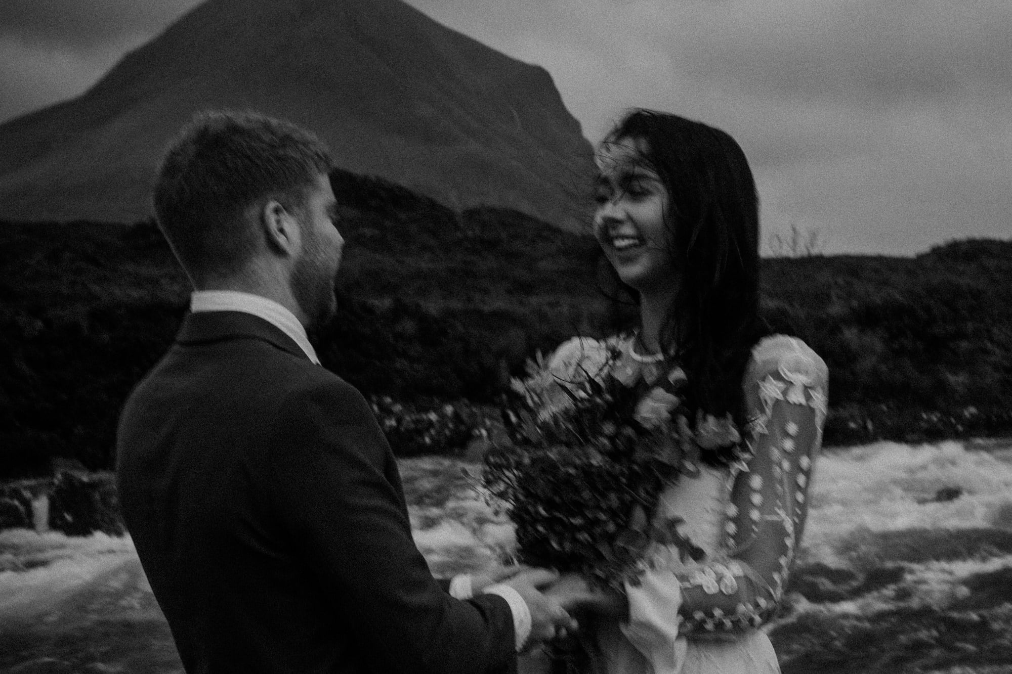 Isle of Skye Elopement Photographer, Sligachan Isle of Skye Elopement, The Quiraing Isle of Skye Elopement, the best locations to elope Isle of Skye,