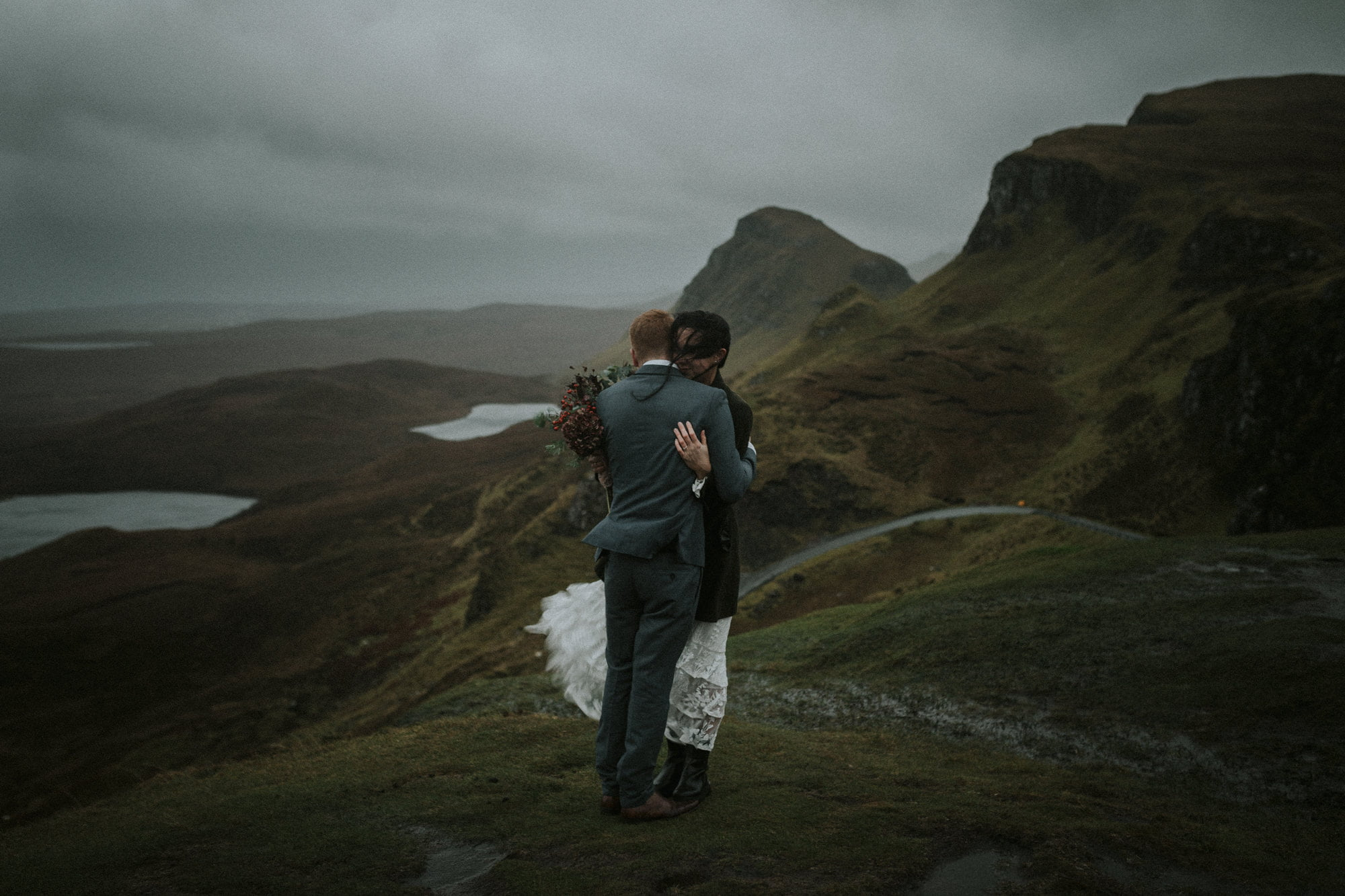 Isle of Skye Elopement Photographer – Rebecca & Iain, Sligachan, The Quiraing