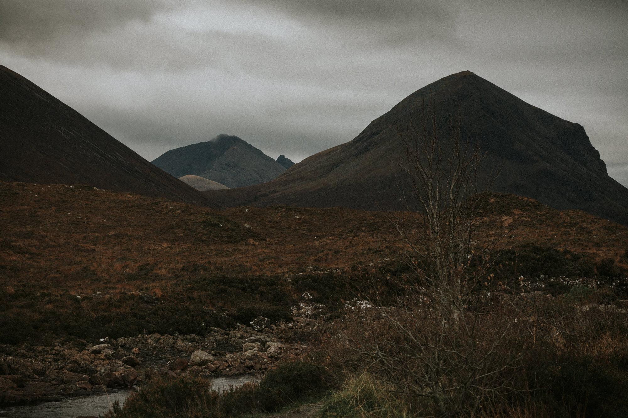Stephen Wardlaw in Walker Slater man outfit, Isle of Skye Photographer, by Bernadeta Kupiec, Isle of Skye elopement photographer-1