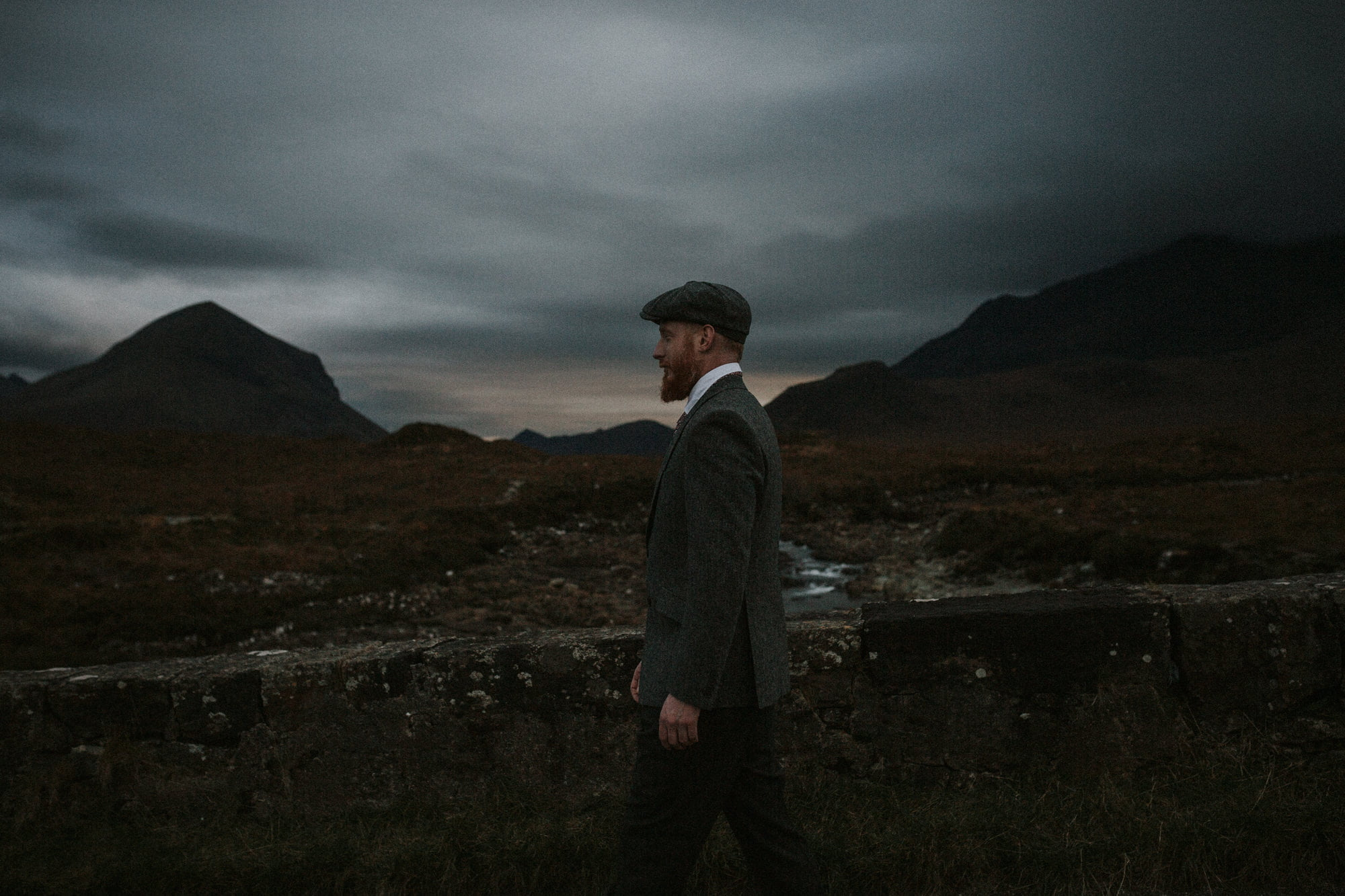 Isle of Skye Photographer – Stephen in Walker Slater outfit