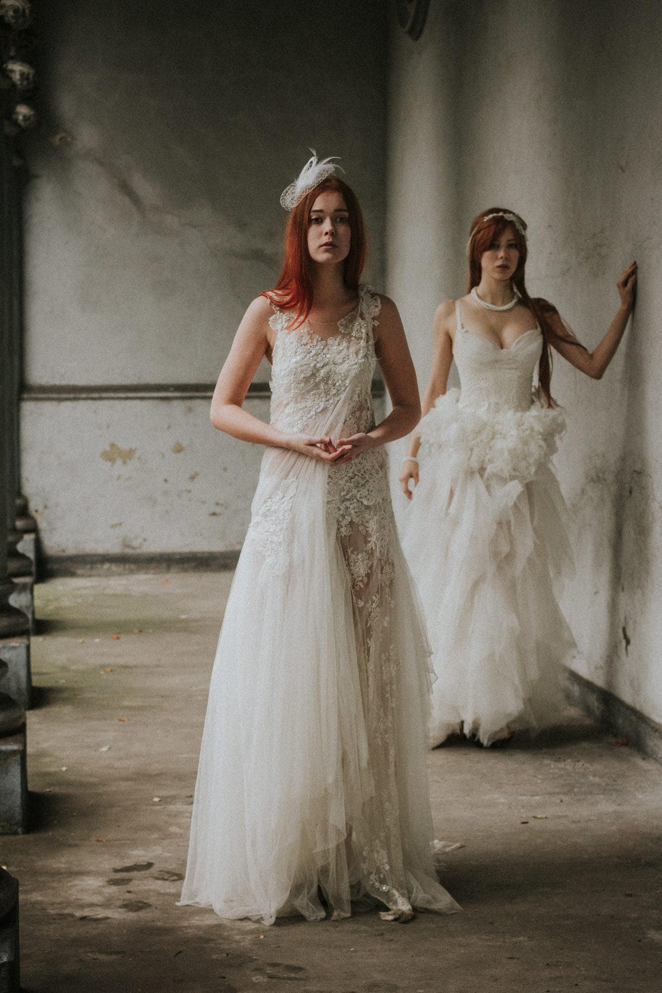 Modern romantic quirky wedding photographer Scotland